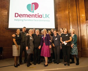 A group of Admiral Nurses celebrate at our event in London.