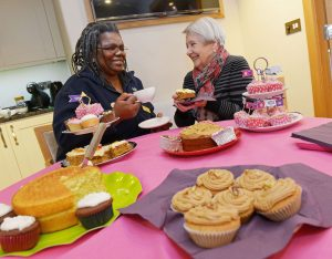 Baking with someone with dementia