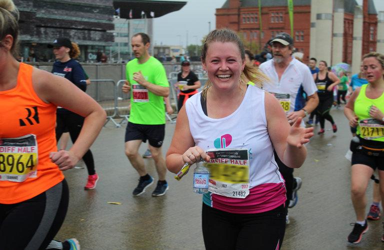 Alice Jones running