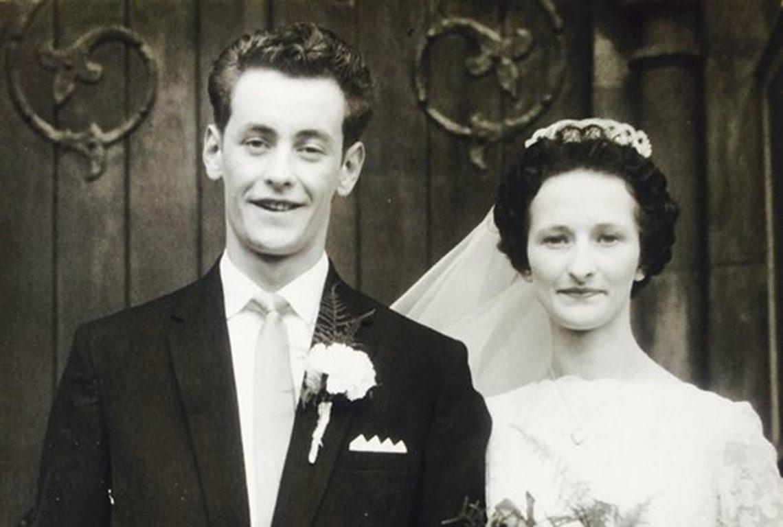 Maureen and Michael wedding photo