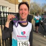 Dementia UK fundraiser with medal