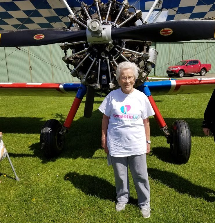 Stormin Norma, fundraiser for Dementia UK