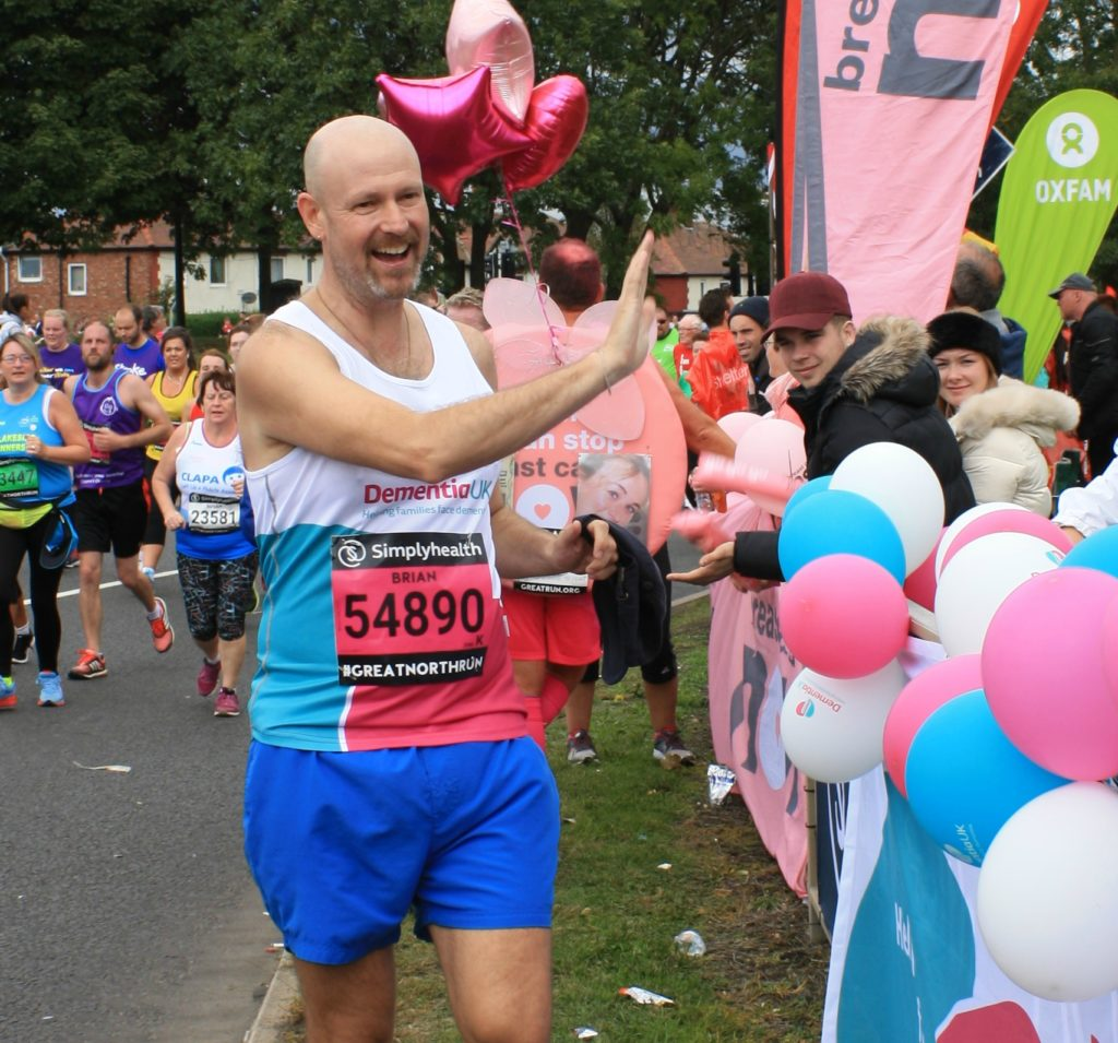 Brian Walton running
