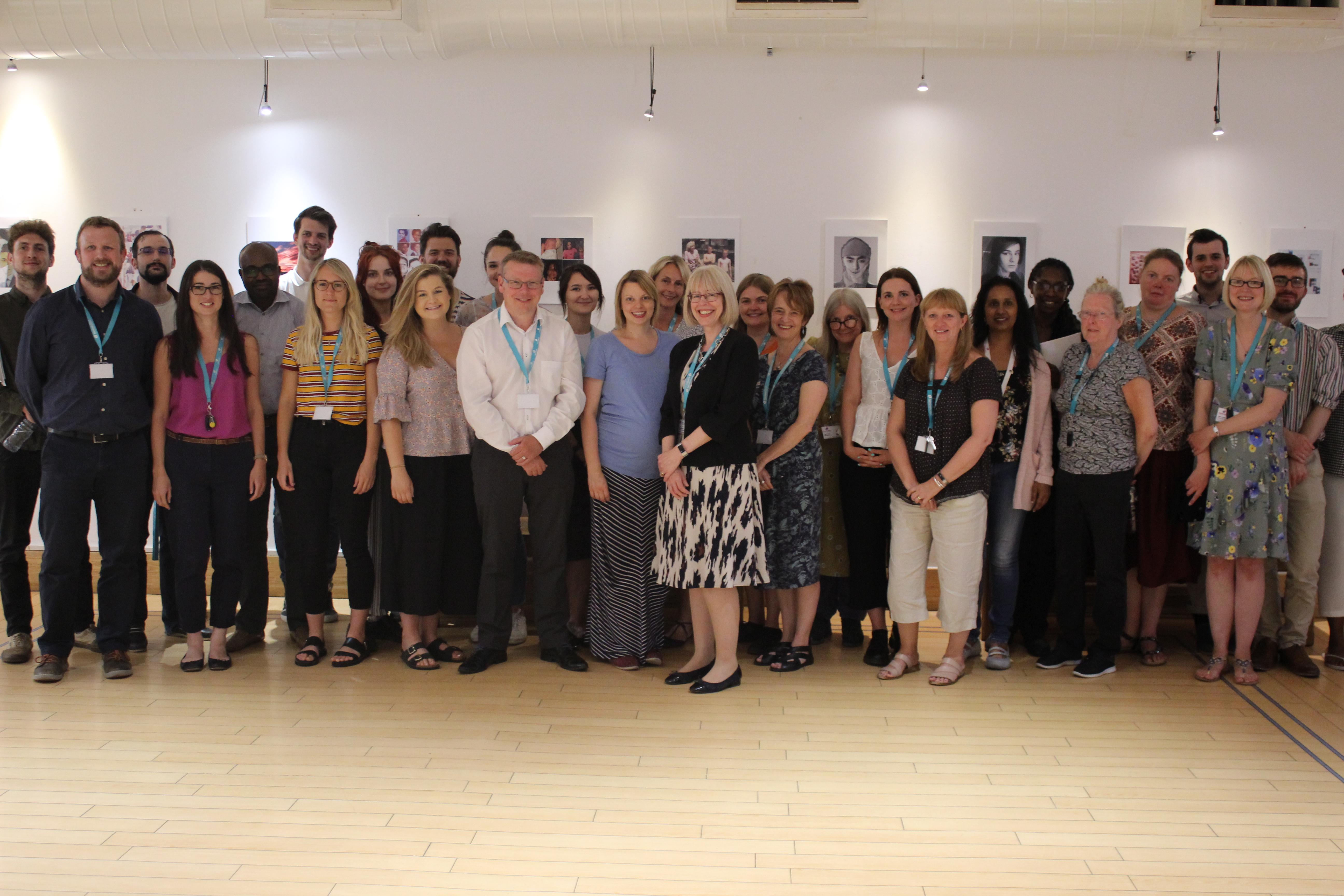 A photo of all Dementia UK staff