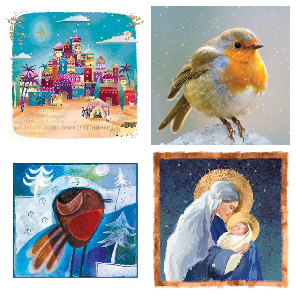 A few of our Christmas card designs