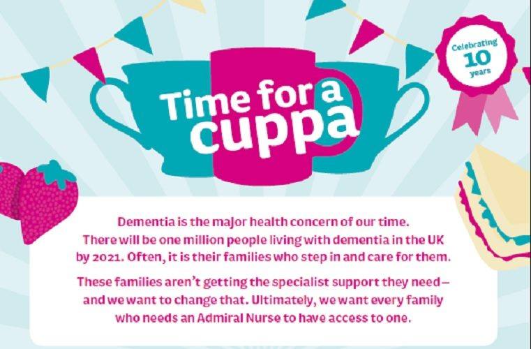 Time for a Cuppa impact poster