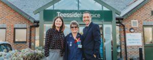 Teesside Hospice - new Admiral Nurse service