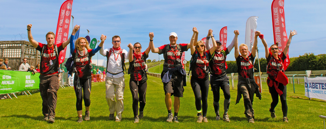Take on the London to Brighton Challenge for Dementia UK