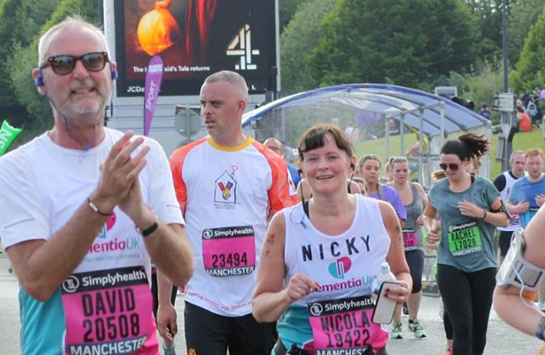 Nicky's Great Manchester Run blog
