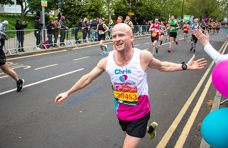 Chris LittleJohn, Dementia UK runner