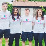 Five cousins running a half marathon to raise money for for Dementia UK