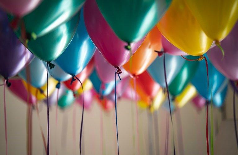 Celebration baloons