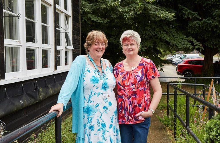 Jayne and Lisa