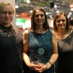 St Cuthbert's Hospice Team with their award