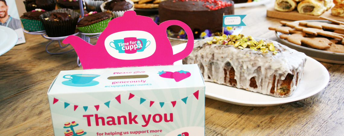 Paying in your Time for a Cuppa fundraising