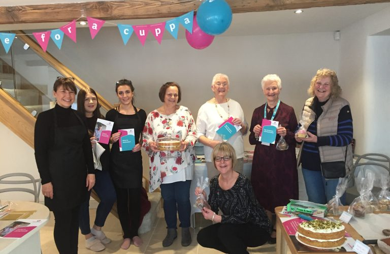 Suzanne Wightman's TIme for a Cuppa event