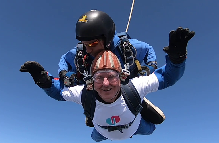 Take on a Tandem Skydive for Dementia UK