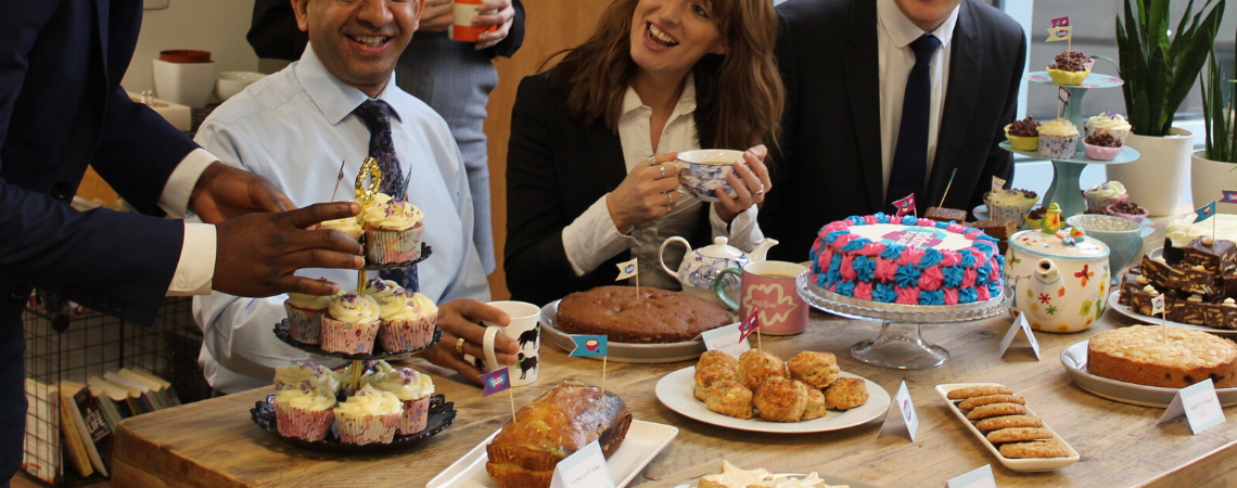 Time for a Cuppa for Dementia UK - holding your event at work