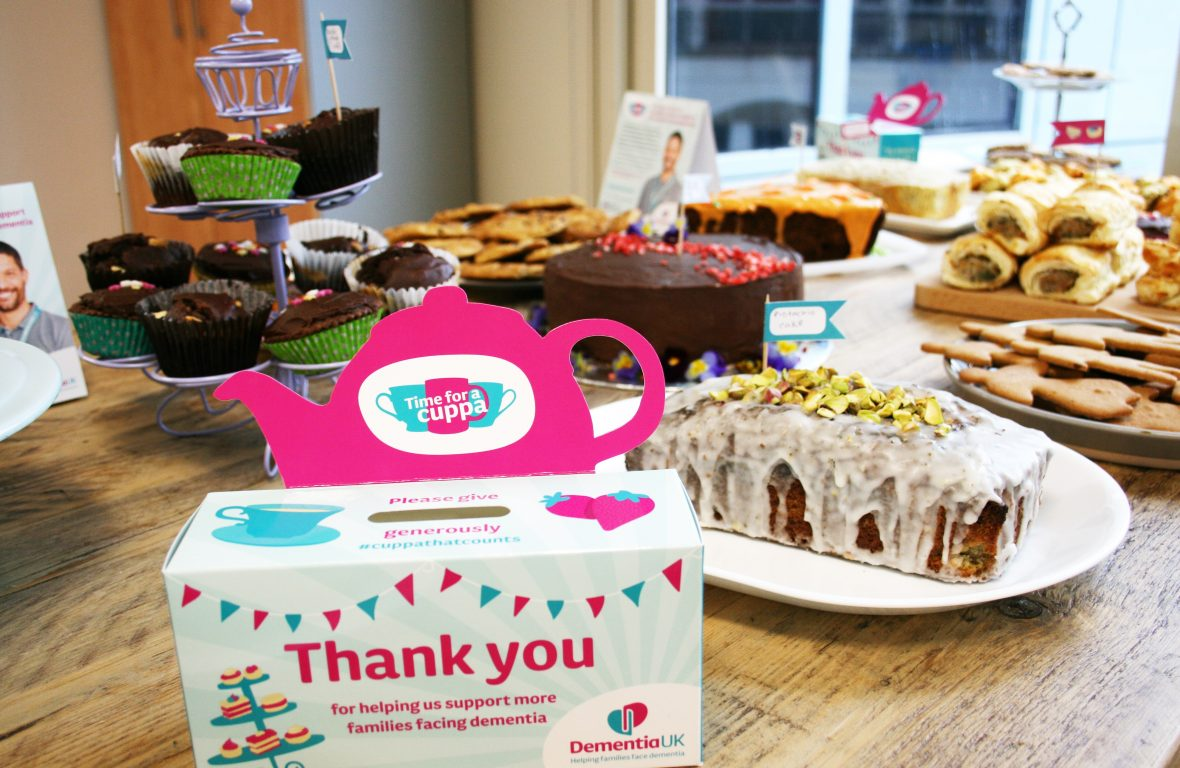 Make Time for a Cuppa to raise funds for Dementia UK's Admiral Nurses