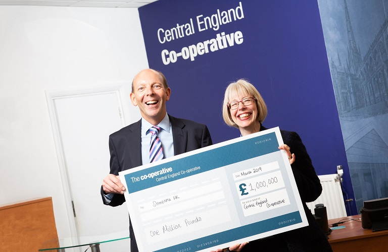 Hilda from Dementia UK and Martyn from Co-Op